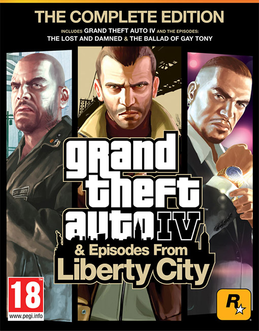rand Theft Auto 4 Complete Edition PC