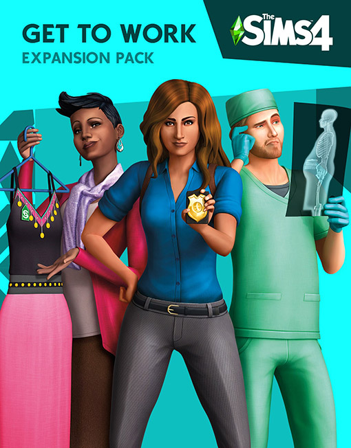 The Sims 4 Get to Work PC & Mac