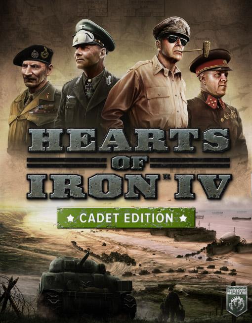 Hearts of Iron IV 4 Cadet Edition PC [Steam Key]