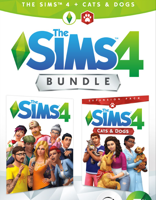 The Sims 4 Cats & Dogs Bundle PC