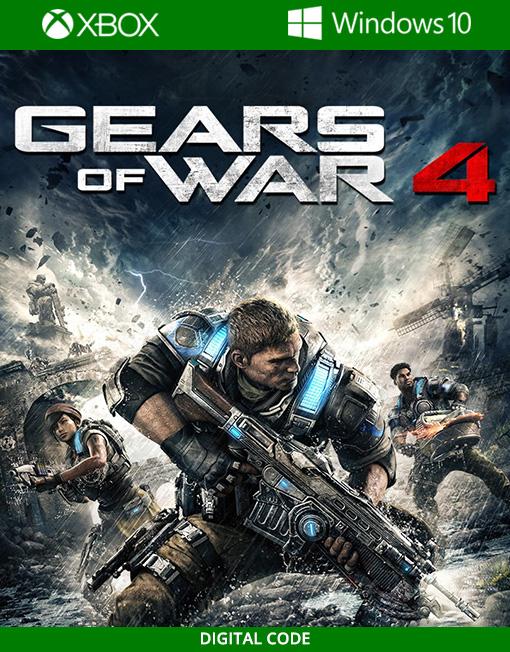 Gears of War 4 Xbox Live / Windows 10 PC [Digital Code]