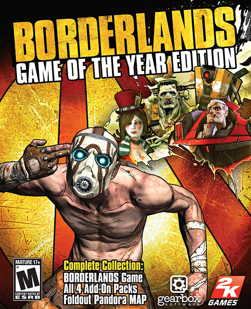 Borderlands: Game of the Year PC
