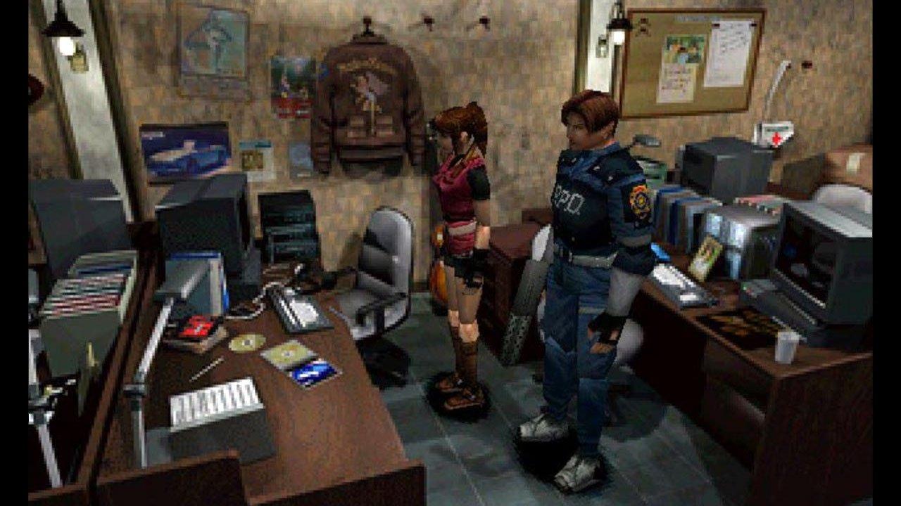 Resident Evil 2 1998 SS1
