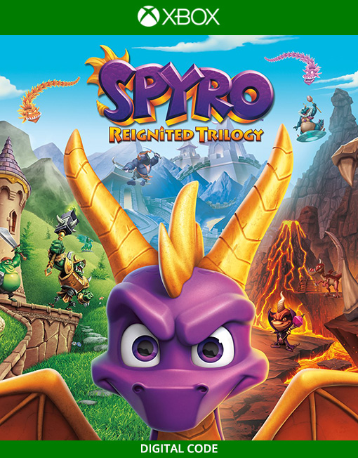 Spyro Reignited Trilogy Xbox Live [Digital Code]