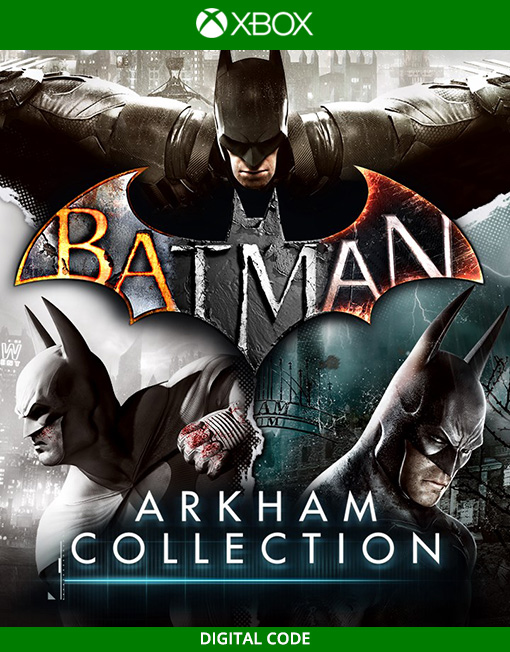 Batman Arkham Collection Xbox Live [Digital Code]