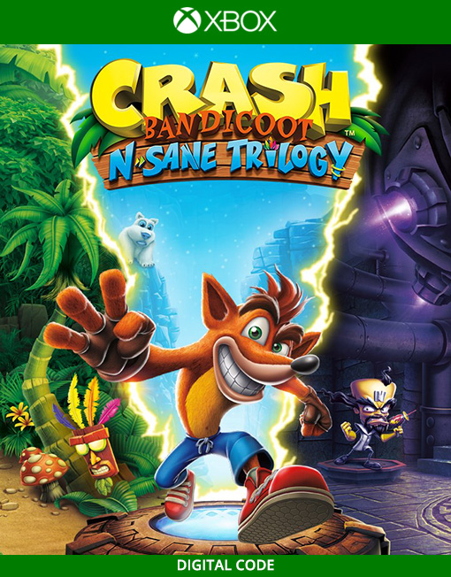 Crash Bandicoot N. Sane Trilogy Xbox Live [Digital Game Delivery]