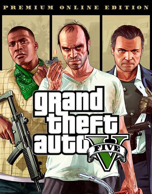 Grand Theft Auto V Premium Online Edition PC [Rockstar Games Key]