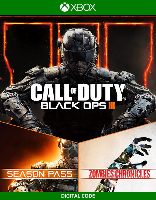 Call of Duty Black Ops III 3 Zombies Chronicles Deluxe Xbox Live [Digital Code]