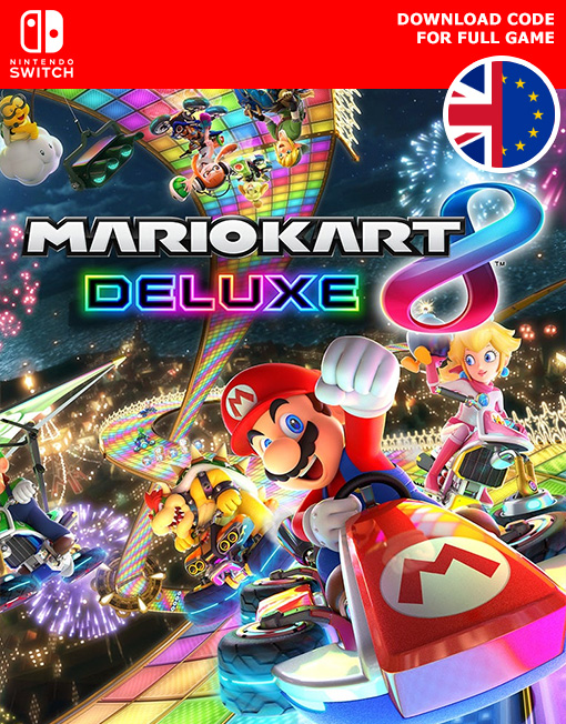Mario Kart 8 Deluxe Nintendo Switch [Digital Code]