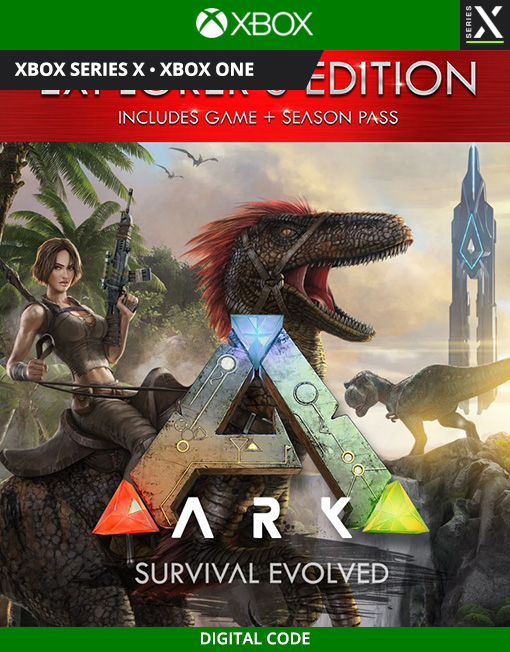 ARK: Survival Evolved Explorer's Edition Xbox Live [Digital Code]