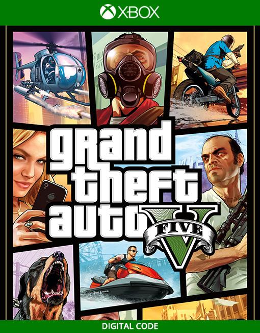 Grand Theft Auto V 5 Premium Edition Xbox Live [Digital Code]
