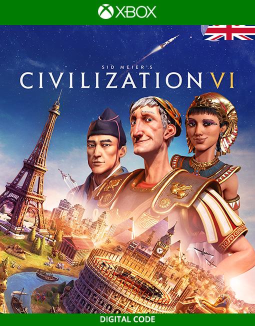 Sid Meier's Civilization VI 6 Xbox Live [Digital Code]