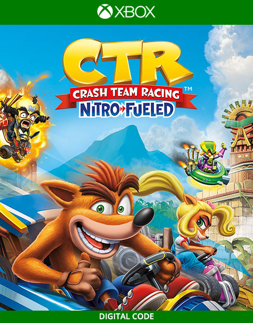 Crash Team Racing Nitro-Fueled Xbox Live [Digital Code]