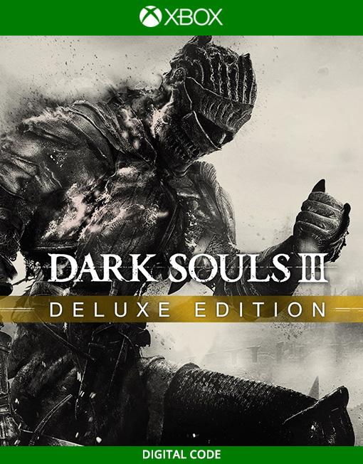 Dark Souls III 3 Deluxe Edition Xbox Live [Digital Code]