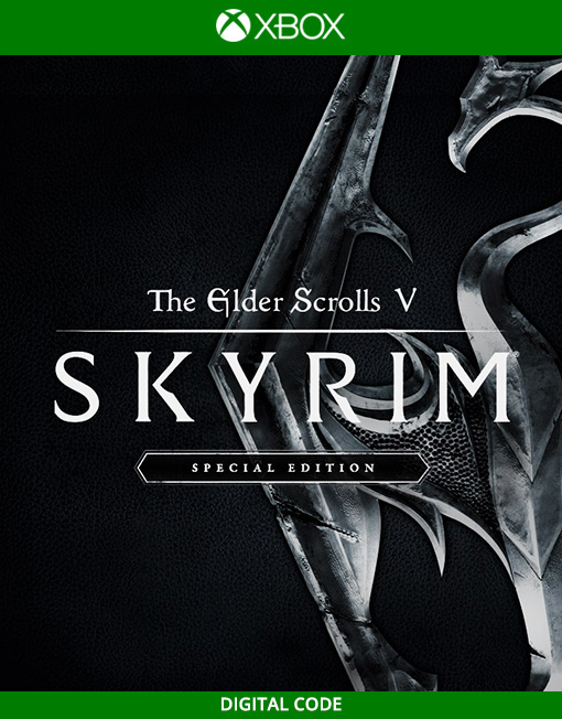 The Elder Scrolls V 5 Skyrim Special Edition Xbox Live [Digital Code]