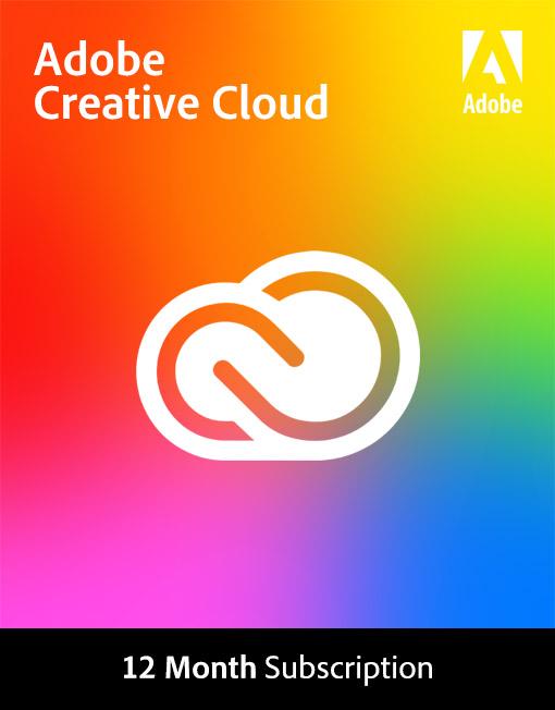 Adobe Creative Cloud 12 Month Subscription [Digital]