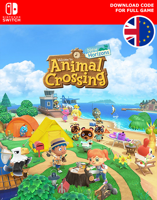 Animal Crossing New Horizons Nintendo Switch [Digital Code]