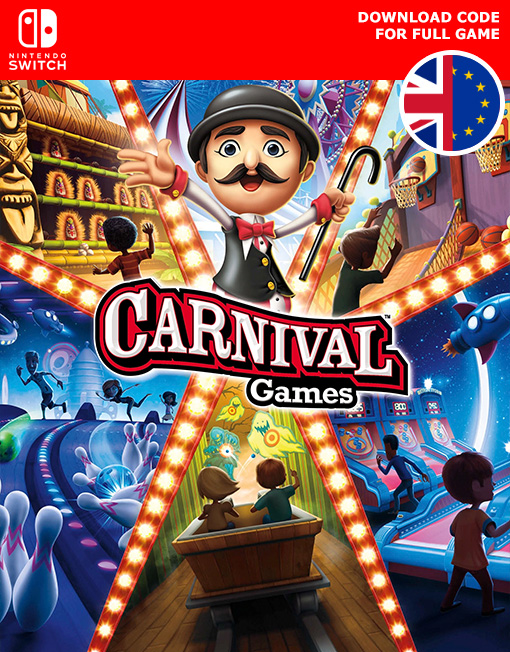 Carnival Games Nintendo Switch [Digital Code]