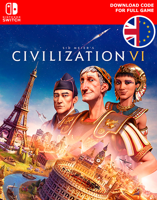 Civilization VI 6 Nintendo Switch [Digital Code]
