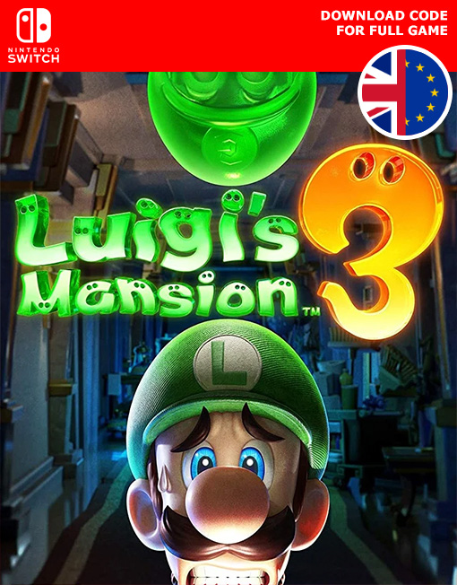 Luigi's Mansion 3 Nintendo Switch [Digital Code]