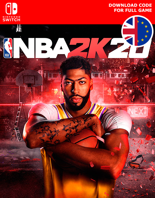 NBA 2K20 Nintendo Switch [Digital Code]