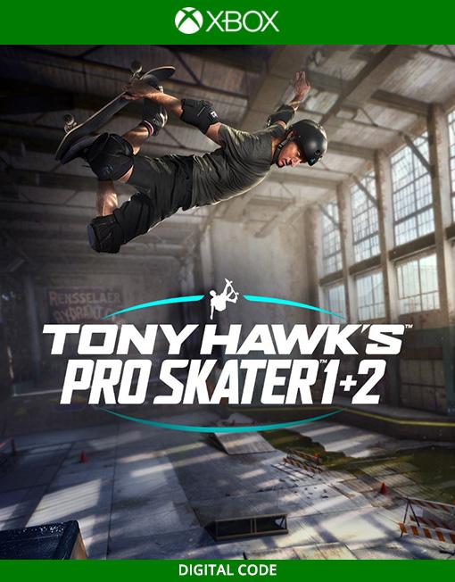 Tonk Hawk's Pro Skater 1 + 2 Xbox Live [Digital Code]