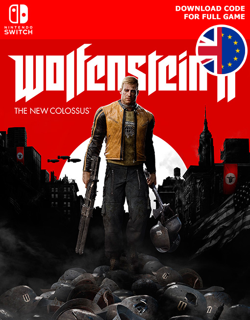 Wolfenstein II 2 The New Colossus Nintendo Switch [Digital Code]