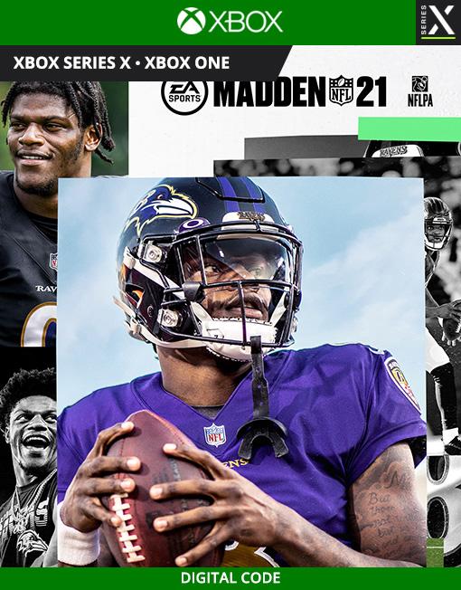 Madden NFL 21 Xbox Live [Digital Code]