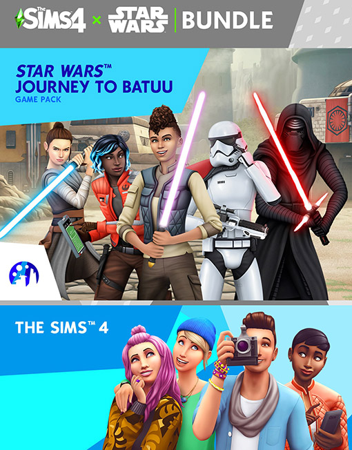 The Sims 4 Star Wars Journey to Batuu Bundle PC & Mac [Origin Key]