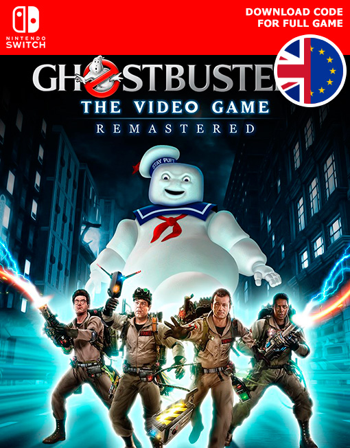 Ghostbusters The Video Game Remastered Nintendo Switch [Digital Code]