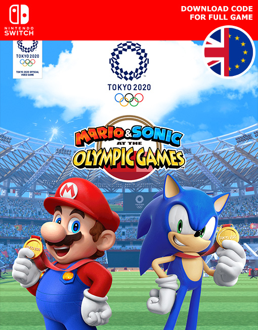 Mario & Sonic at the Olympic Games Tokyo 2020 Nintendo Switch [Digital Code]