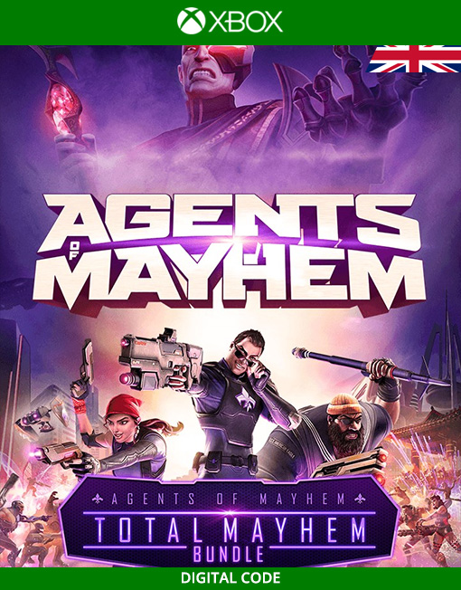 Agents of Mayhem Total Mayhem Bundle Xbox Live [Digital Code]