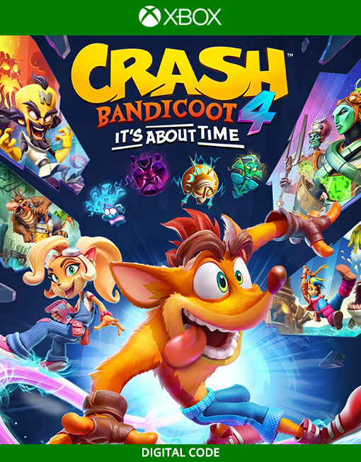 Crash Bandicoot 4: It's About Time Xbox Live [Digital Code]