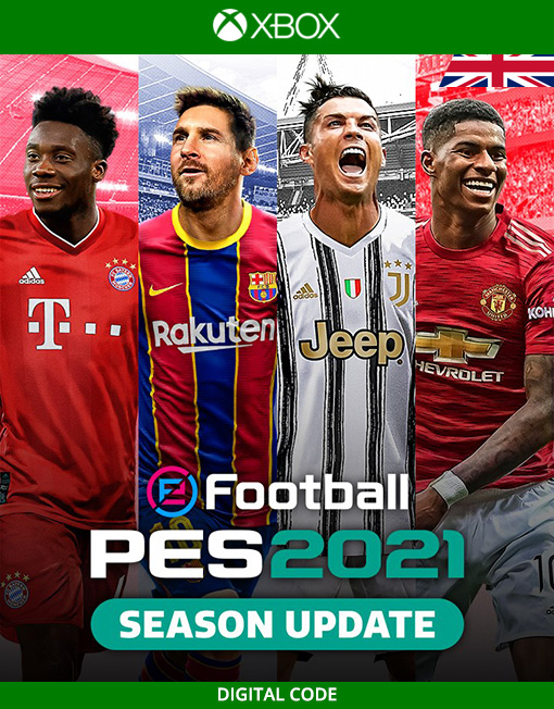 eFootball PES 2021 Season Update Xbox Live [Digital Code]