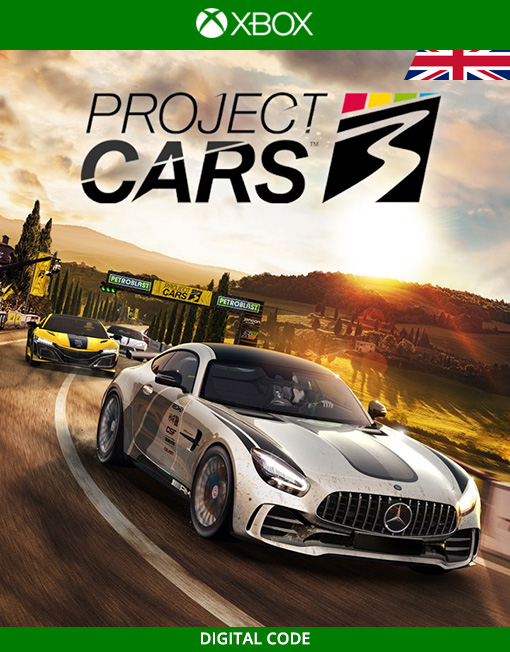 Project CARS 3 Xbox Live [Digital Code]