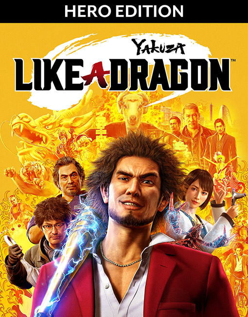 Yakuza Like a Dragon Hero Edition PC [Steam Key]