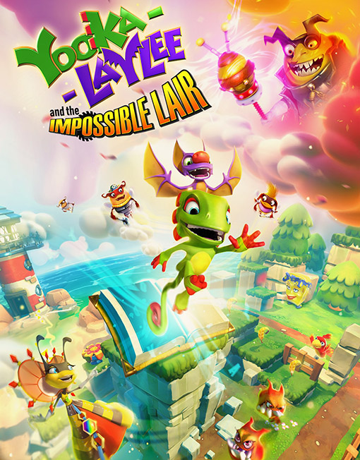 Yooka-Laylee and the Impossible Lair PC [Steam Key]