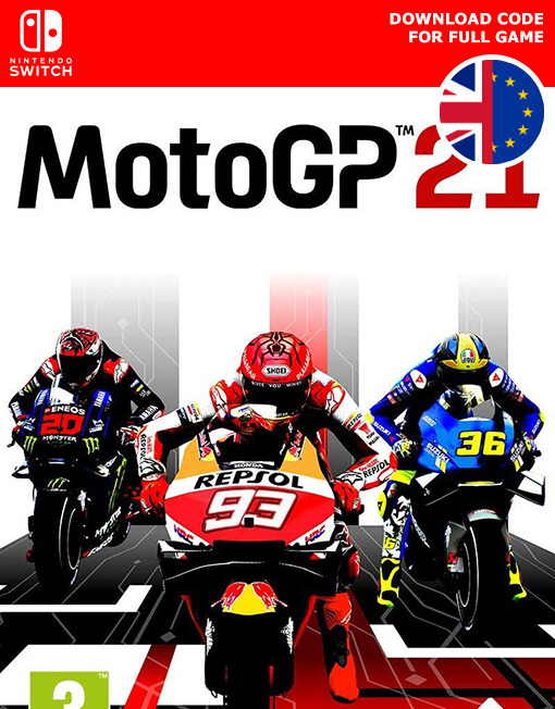 MotoGP 21 Nintendo Switch [Digital Code]