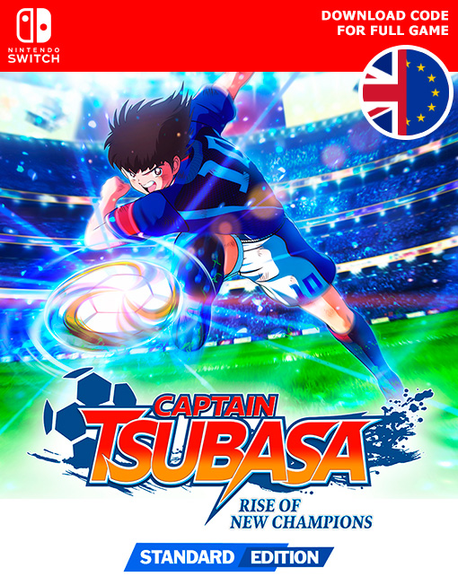 Captain Tsubasa Rise of New Champions Nintendo Switch [Digital Code]